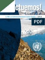 Triptico COP 20