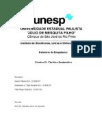 Relatório Bioquímica