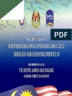 Maj. Penyerahan Bantuan Khas Awal
