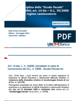 Fiscalità Attività Finanziarie (Intervento Dr Parisotto 10052011) (1)