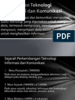 Pengertian Teknologi Informasi Dan Komunikasi