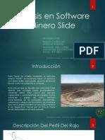Uso de SLIDE en minería cielo Abierto - R. y G.