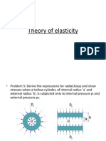 Theory of elasticity-Polar coordinates