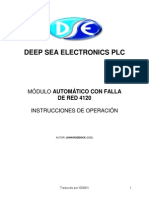 Manual de Operación, 4120 (Esp)