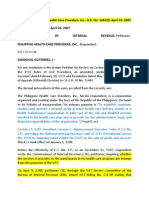 32. CIR vs. Philippine Health Care Providers, Inc., G.R. No. 168129, April 24, 2007