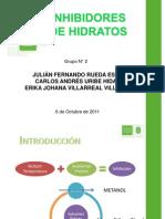 Inhibicion  de Hidratos[1]