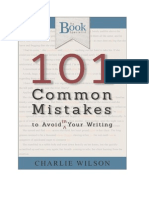 101 Mistakes in English Grammar