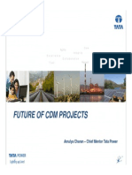 Presentation on Futture of CDM Projects