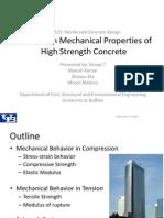 Group 7_Mechanical Properties of HSC