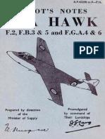 Hawker Sea Hawk Pilots Notes