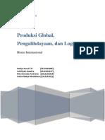 Produksi Global, Pengalihdayaan, Dan Logistik