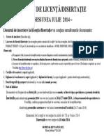 ACTE NECESARE Licenta Disertatie2014