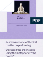 japanese theater ppt zeami