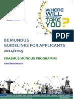 BEMUNDUS Guidelines for Applicants En
