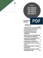 ARM256 M257 M316 M317 OM Key Operators Guide ES
