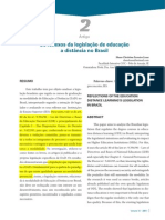 Lessa,SCF_Os Reflexos Da Legislação de EaD No Brasil