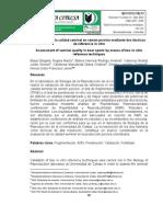 Evaluación de la calidad seminal en semen porcino mediante dos técnicas de referencia in vitro