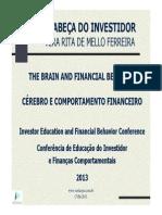 A Cabeça Do Investidor - Vera Rita