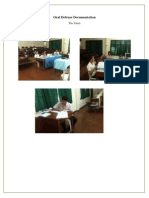 Oral Defense Documentation