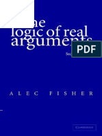 Fisher - The Logic of Real Arguments