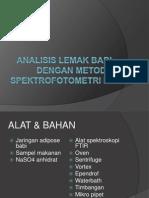 p5 Analisis Lemak Babi Dengan Metode Spektrofotometri Ir