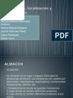 Almacenes, Localización y Distribución