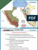 controles de la mineralización  en los andes peruanos