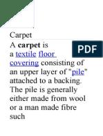 Carpet Languages Peoples