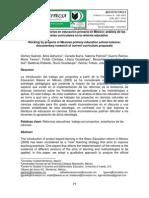 El trabajo por proyectos en educación primaria en México