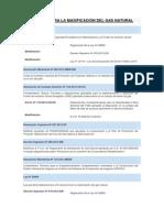 Normas Para La Masificación Del Gas Natural