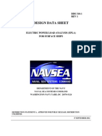 Electric Power Load Analysis (Epla) for Surface Ships