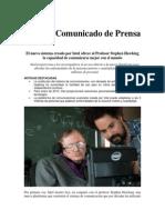 El Nuevo Sistema Creado Por Intel Ofrece Al Profesor Stephen Hawking La Capacidad de Comunicarse Mejor Con El Mundo_1