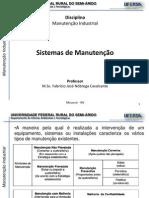 Manutencao Industrial - 1.2-Sistemas de Manutencao