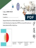 Certificado Japones