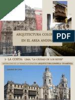 m.arq.Colonial en El Área Andina R.c