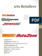auto parts retailers-group 9-fsa project