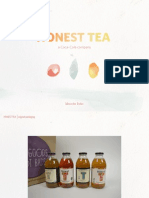 Honest Tea Brand Book