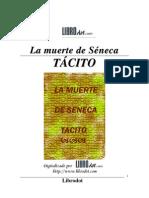 Tacito, Cayo Cornelio - La muerte de Seneca
