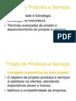 Unidade III - Projeto de Produto Ou Serviços