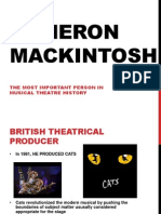 Cameron Mackintosh Presentation