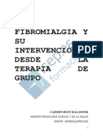 La Fibromialgia Y Su Intervencion Desde La Terapia de Grupo