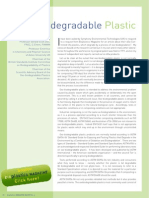 Oxobiodegradable plastic