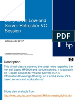 Low-End Server Refresher VC Session-08152005