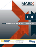 MABX 2014 Construction Buyers Guide