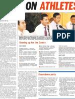 Focus on Athletes, 13 Aug 2009, Straits Times