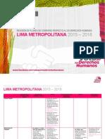 Voto Por Los Derechos Humanos Lima Metropolitana