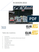 Ppt Clio Cup 2015 Fr