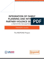 Integration of Family Planning and Intimate Partner Violence Services