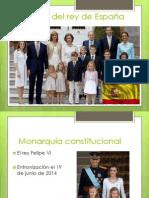 familia del rey de espaa