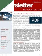 Newsletter T&P N°85